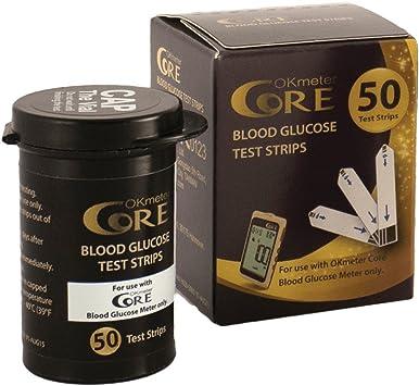 50x Tiras Reactivas Glucosa EnSangre | Tiras para el control de la diabetes y la glucosa