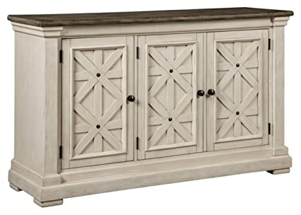b0a2f2906a1b Ashley Furniture Signature Design - Bolanburg Dining Room Server - Vintage  Casual - Weathered Oak