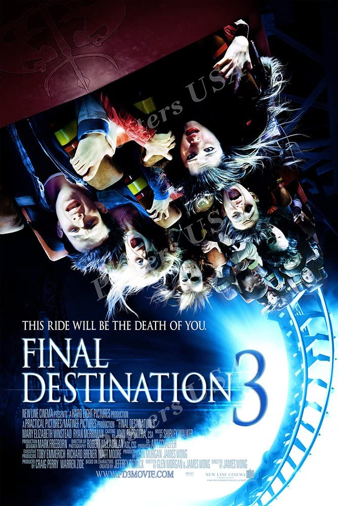 Ship from USA - Final Destination 3 Movie Poster Glossy Finish Made in USA - MOV288 (24
