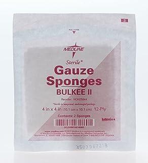 Medline NON25844Z Gauze, Sponge, Fluff, 4