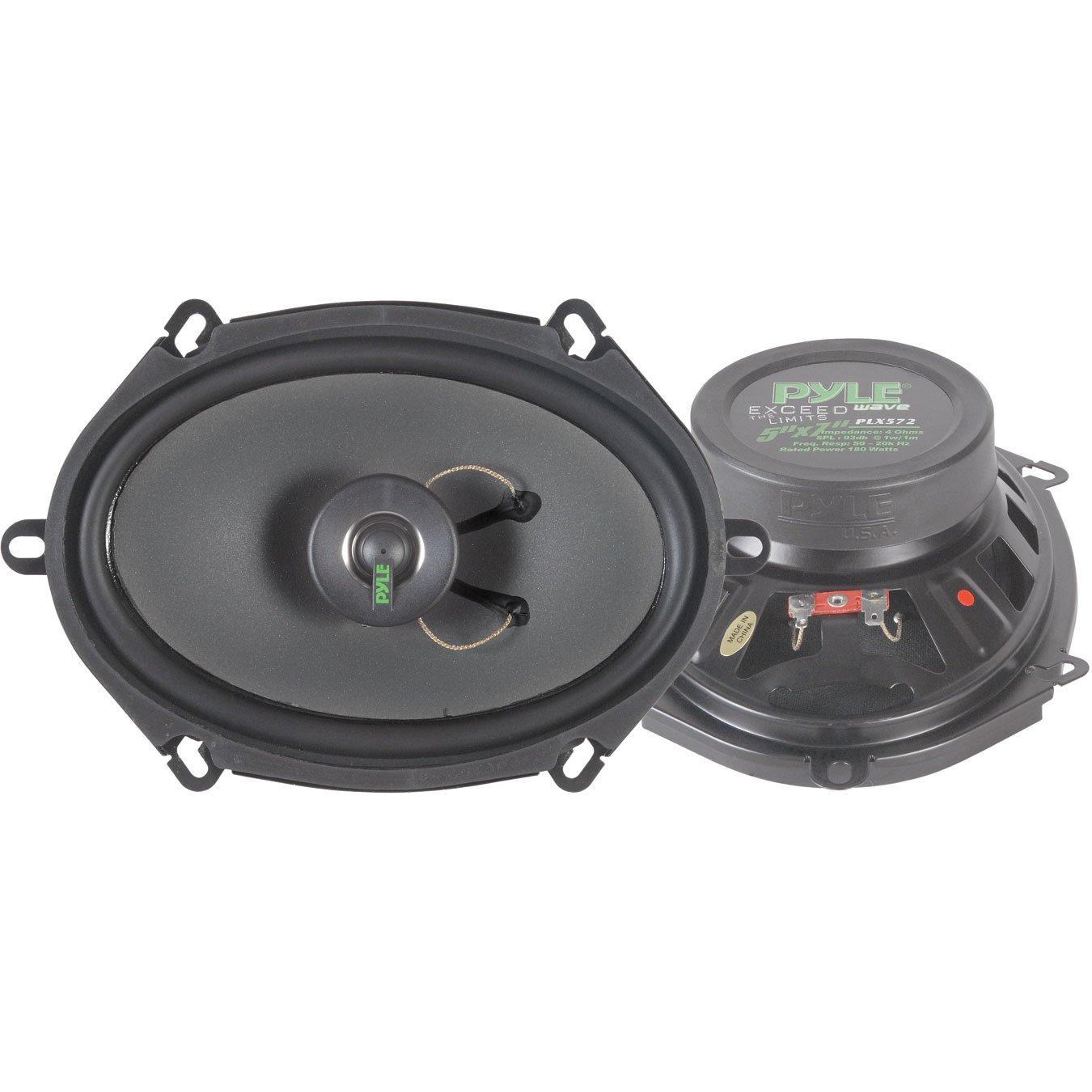 Amazon.com: PYLE PLX462 4-Inch x 6-Inch 160 Watt Two-Way Speakers ...