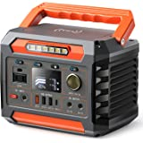 PROGENY 300W Portable Power Station, 299Wh Backup Battery with AC Outlet, Regulated DC 12V, USB-C and Wireless Charging Solar