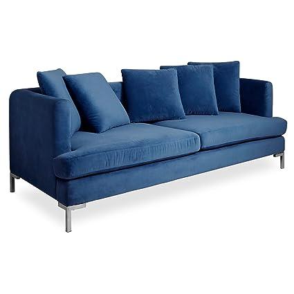 Amazon Com Now House By Jonathan Adler Pierre Cushion Sofa Milan