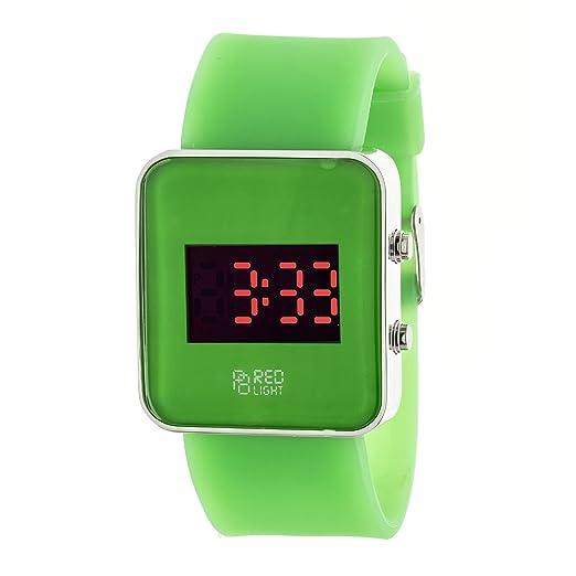 Pierre Bonnet Reloj Digital Verde