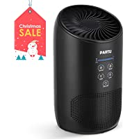 PARTU Hepa Air Purifier - Smoke Air Purifiers for Home with Fragrance Sponge - 100% Ozone Free, Lock Button, Removing 99.97% Allergies, Dust, Pollen, Pet Dander, Mold (Available for California)