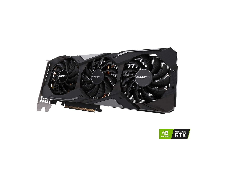 GV-N2070GAMING OC-8GC Video Card 3X Windforce Fans 8GB 256-Bit GDDR6 Gigabyte GeForce RTX 2070 Gaming OC 8G Graphics Card