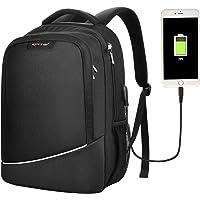 MANXISI 15.6 Business Travel Waterproof Slim Laptop Backpack