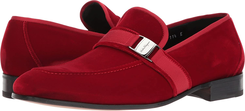 solapa excepción odio  Salvatore Ferragamo Men's Danny 2 Loafer Red Size: 47 (US Men's 13) E -  Wide: Amazon.co.uk: Shoes & Bags