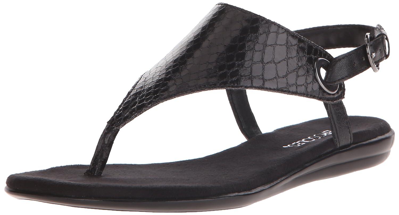 Aerosoles Power Thru Sandal Black Soft Z56b6161