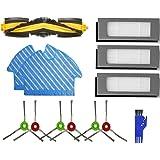 MTKD® Kit de Recambios para Aspiradora Ecovacs Deebot OZMO 900 - Kit de Cepillos Filtros y Mopas - Pack de 16 PCS