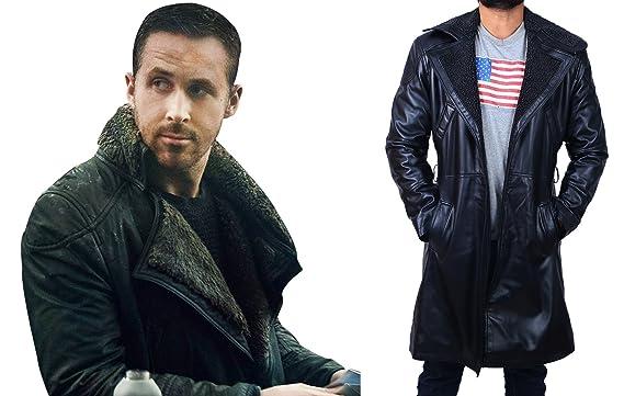0483a9f69 Blade Runner 2049 - Ryan Gosling Mens Shearling Coat Jacket at ...