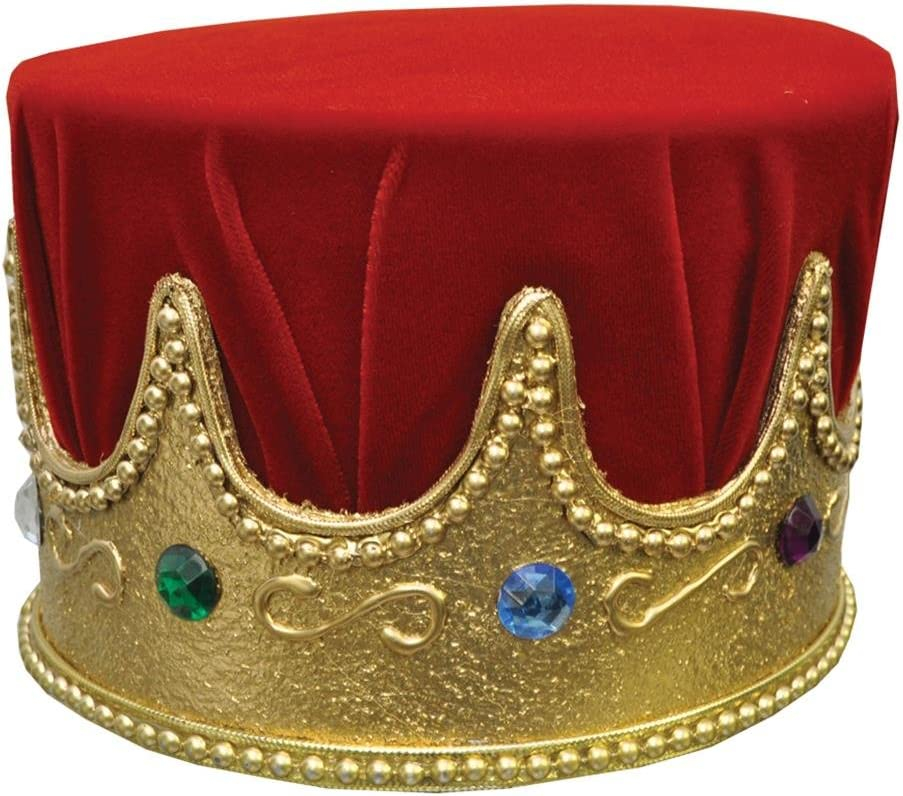 Crown Jewel With Red Turban