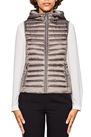 reputable site 1f72a ea1b4 ESPRIT Gilet da Esterno Donna: Amazon.it: Abbigliamento