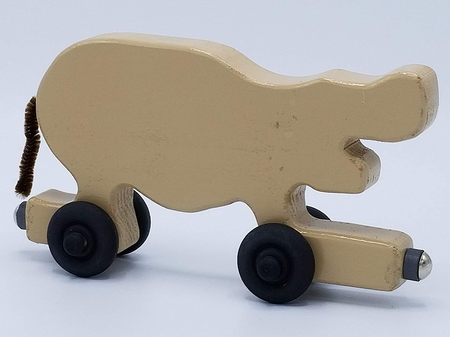 Hand Painted Magnet Animal Train