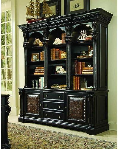 Reviewed: Hooker Furniture Telluride 3 Drawer Bookcase Base Cabinet