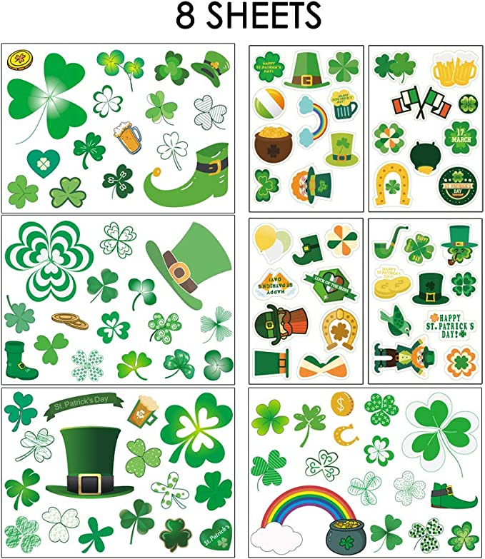 Flowers /& Leaves Ladybirds Shamrock NEW Pk 66 Papermania Craft Dome Stickers