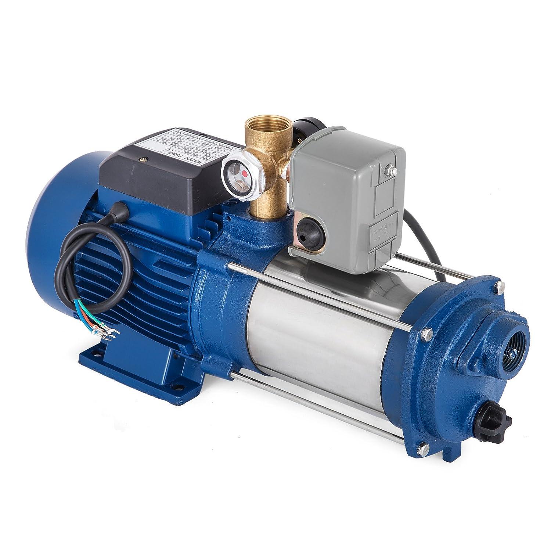MC-1800 Hopopular MC-1800 Centrifugal Booster Water Pump 9000 L//H Jet Pump 1800W Well Garden Water Pump