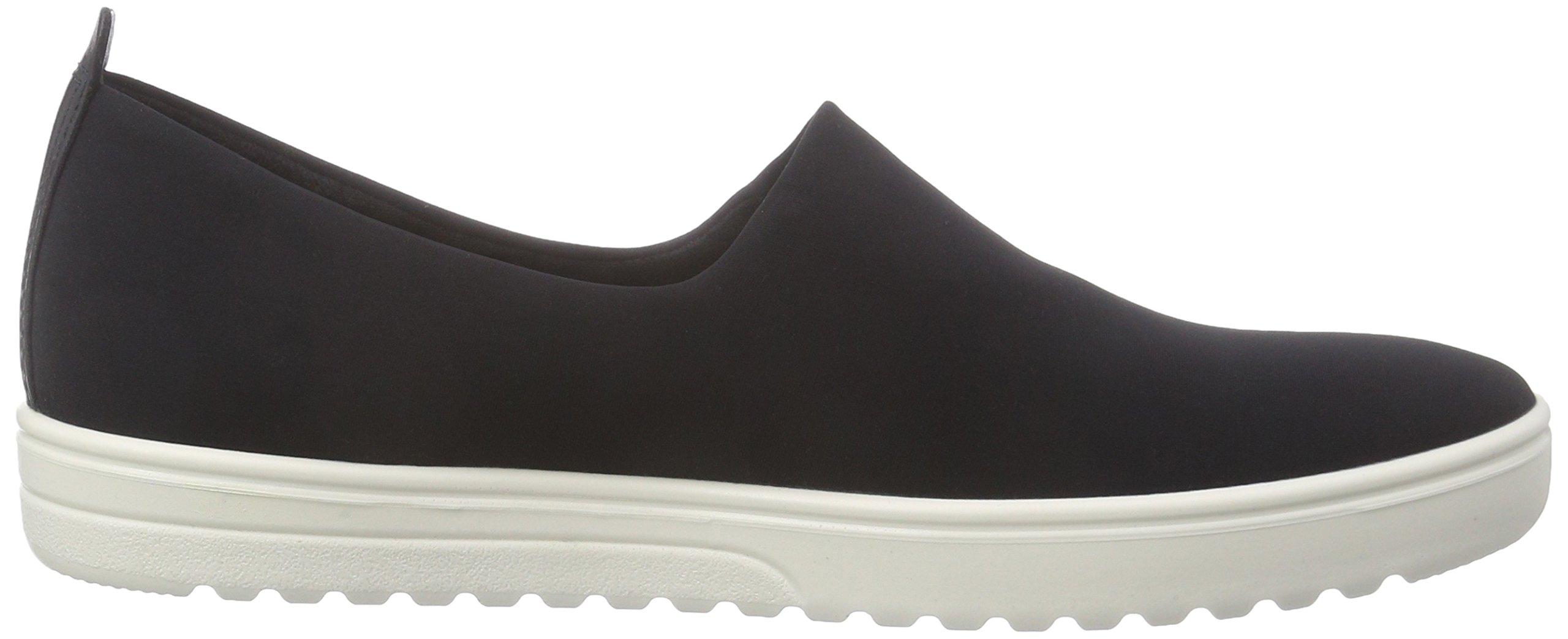 Ecco Footwear Womens Fara Slip-On Loafer, Black/Black, 42 EU/11-11.5 M US by ECCO (Image #6)