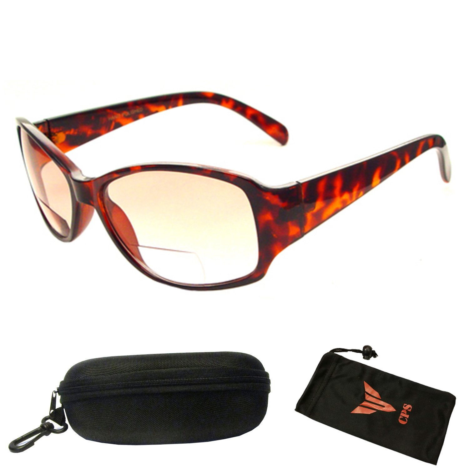 2 Pairs Mens Womens Culbmaster Ourdoor UV400 Bifocal Reading Reader Sunglasses
