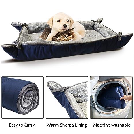 Pawsse Cama Grande para Perro, Suave Felpa para Mascotas, sofá, Cojín para caseta