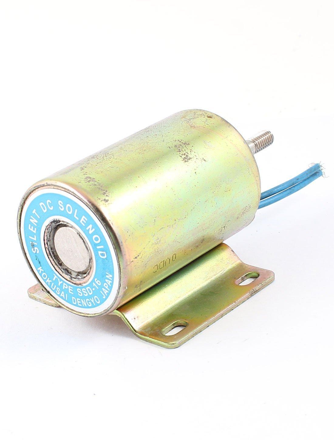 15 mm Carrera 2 kg Fuerza de vaivén del tipo electroimán del solenoide DC 110V: Amazon.com: Industrial & Scientific