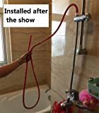 Enema Cleaning Shower System equipment Red Latex
