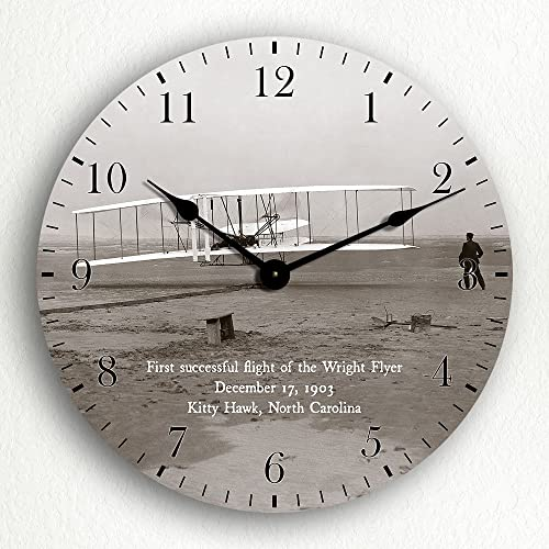 Classical Creations Wright Brothers First Flight 12 Wall Clock
