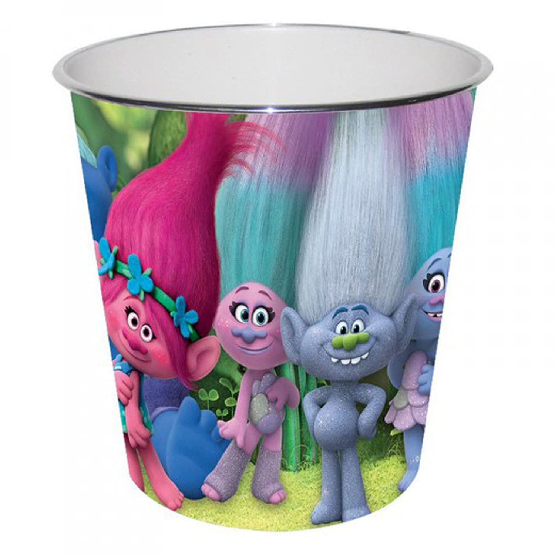 DreamWorks TROLLS - Papierkorb Mülleimer Abfalleimer Eimer Aufbewahrung Kinderzimmer