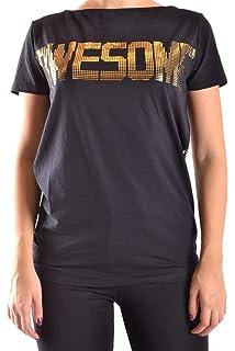 Liu Jo Luxury Fashion Womens MCBI28114 Grey Tank Top Season Outlet