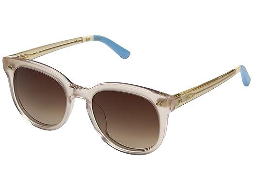 8641ae8be9dd Amazon.com  TOMS Unisex Dodoma 201 Matte Champagne Sunglasses  Clothing