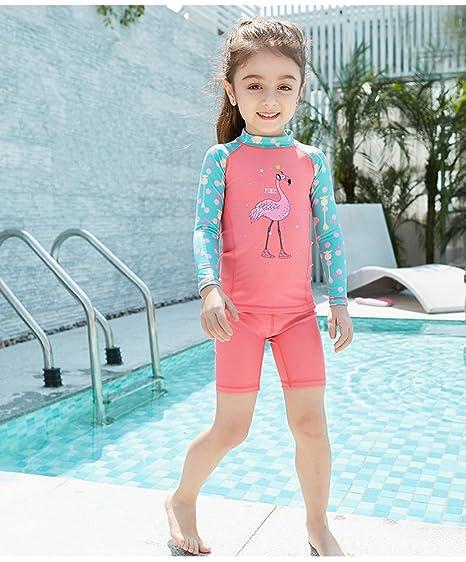 Monba - Bañador Transpirable para niñas con protección Solar UV 50 ...