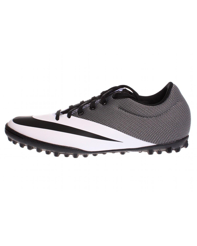 Nike Herren MercurialX Pro TF Fuszlig;ballschuhe  42.5 EU Blanco (Blanco (White/Black-black))