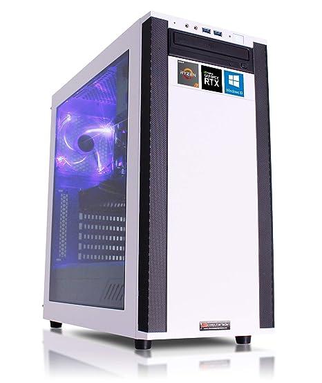 dercomputerladen Gaming PC M25-W, R5-3600 6x3.6 GHz - R9-3950X ...