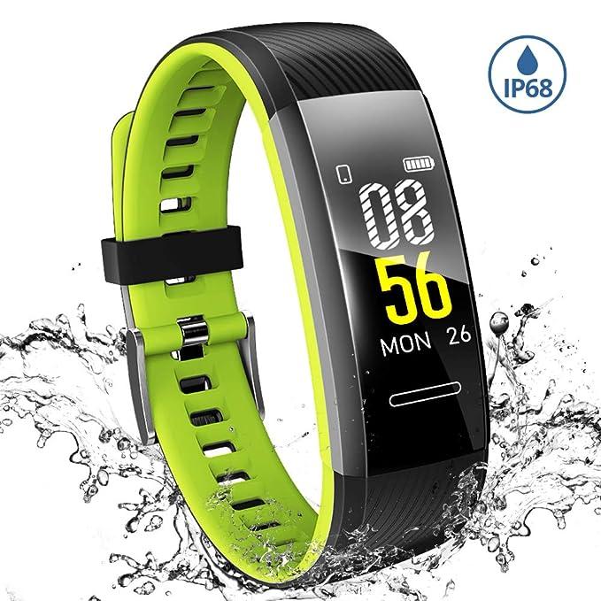 Makibes Pulsera de Actividad, Fitness Tracker, Monitor ...