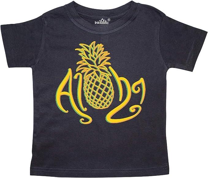 inktastic First Birthday Hawaiian Pineapple Toddler T-Shirt