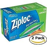 Super Value Ziploc Sandwich Bags (150 bags x 2 = 300 bags)