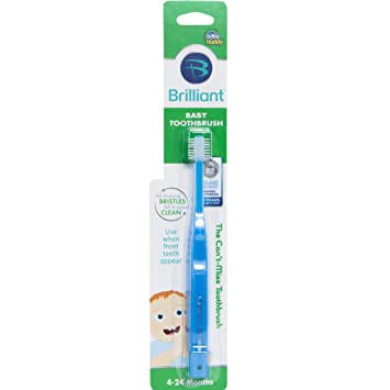Amazon.com: Baby Buddy 360 Cepillo de dientes Etapa 1, Total ...
