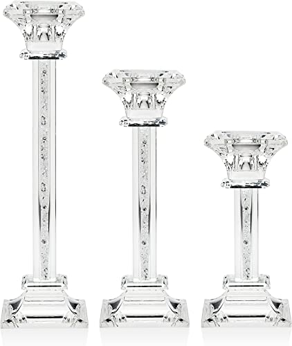Godinger Galaxy Square Candlesticks Candle Holder