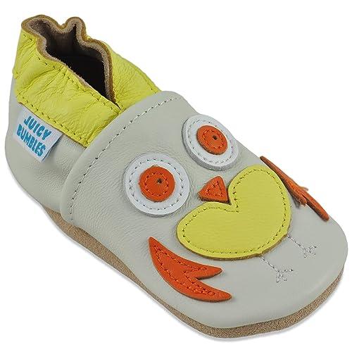 1c753201b2b Zapatos Bebe Niña - Zapatillas Niña - Patucos Primeros Pasos - Búho  Amarillo 0-6