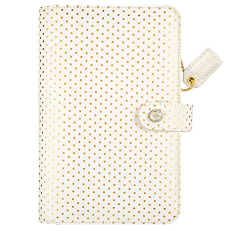 Amazon Com Webster S Pages Gold Dot Color Crush Personal Planner