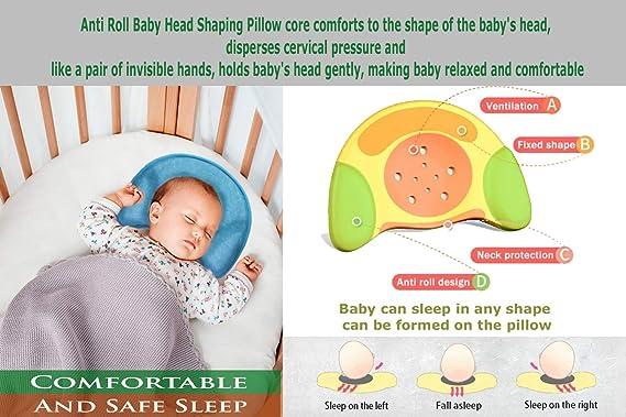Amazon.com: Happyfuture - Almohada para bebé, prevención de ...