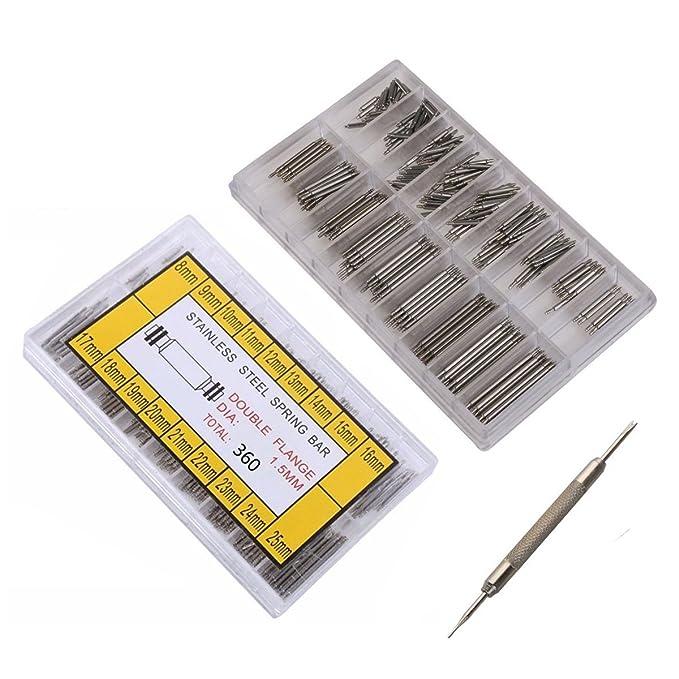 25mm Uhren Reparatur-werkzeuge & Kits Einfach Uhr Band Frühling Bars Strap Pin Reparatur Werkzeuge Link Pins Reparatur Uhrmacher Edelstahl Uhr Zubehör Uhren 8mm
