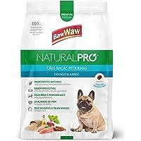 Ração Baw Waw Natural Pro para cães raças pequenas sabor Frango e Arroz - 2,5kg