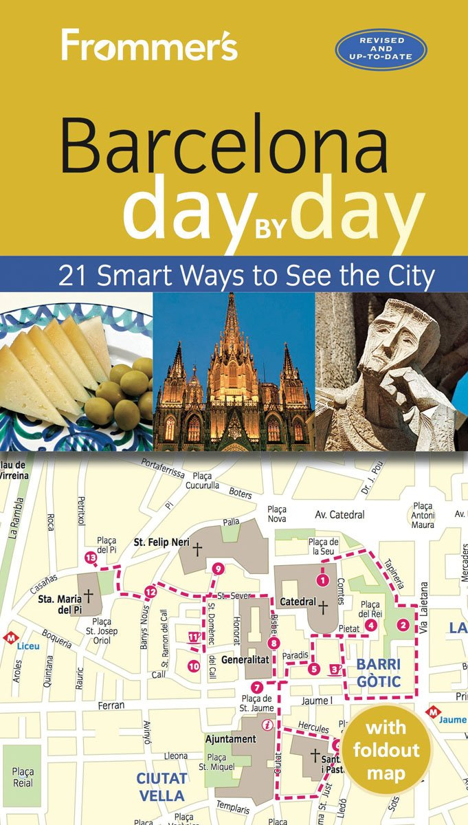 Frommers Barcelona day Patricia Harris product image