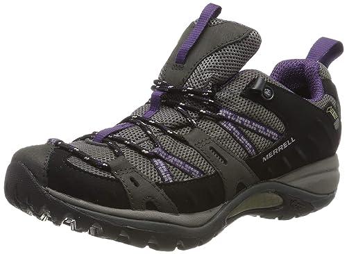 104f2f8d Merrell Women's Siren Sport GTX/Black/Perfect Plum Hiking Shoes, Black /Perfect