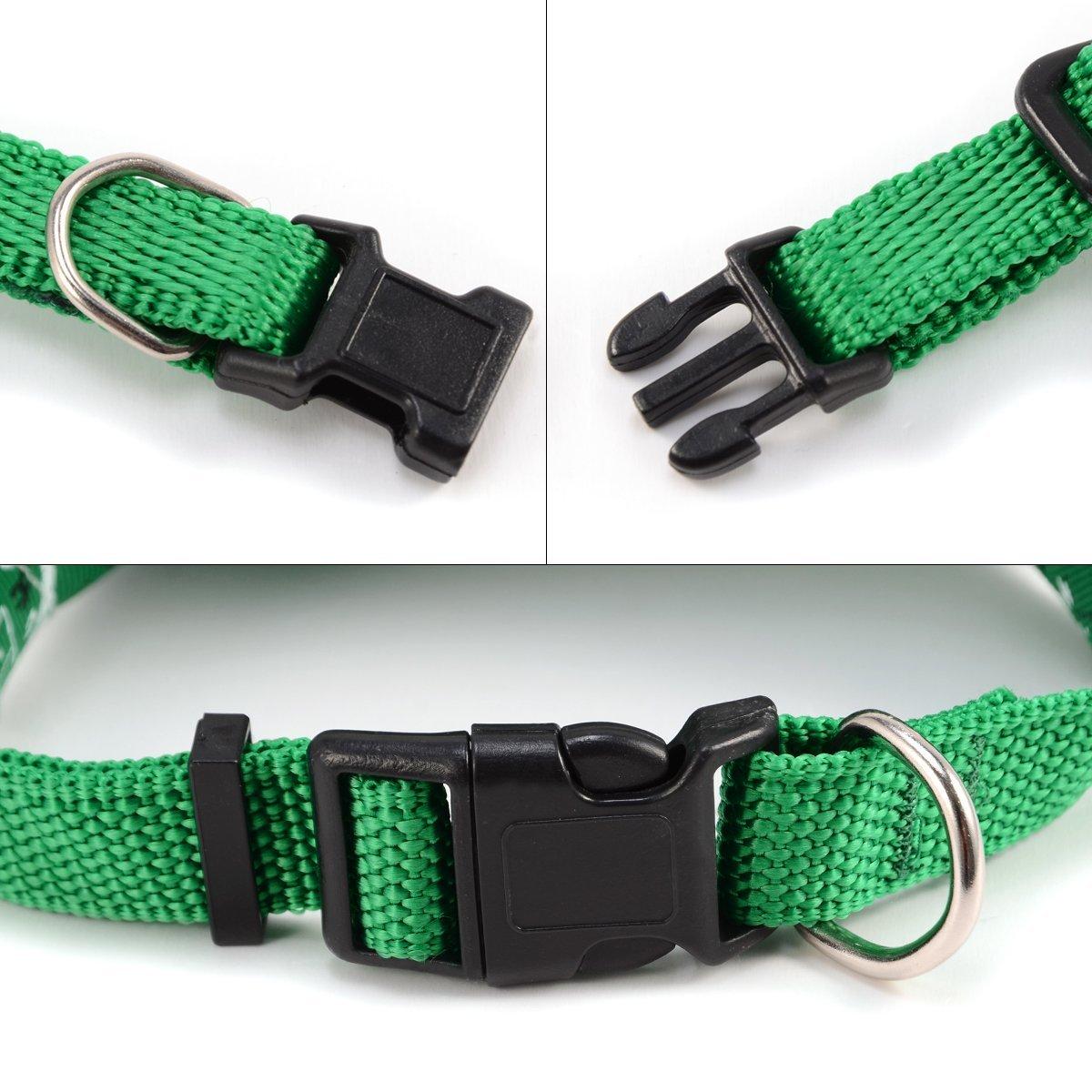 AKORD Collar Bandana para Perros Ajustable