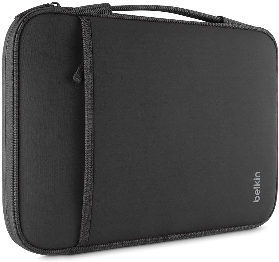 Belkin Laptop Sleeve for Surface Pro, MacBook Air, Chromebook, and Other 11-Inch Devices (Black)