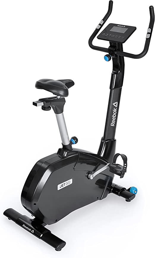 Reebok Jet 300 Fitness Bike, Negro de Color Azul, One Size: Amazon.es: Deportes y aire libre