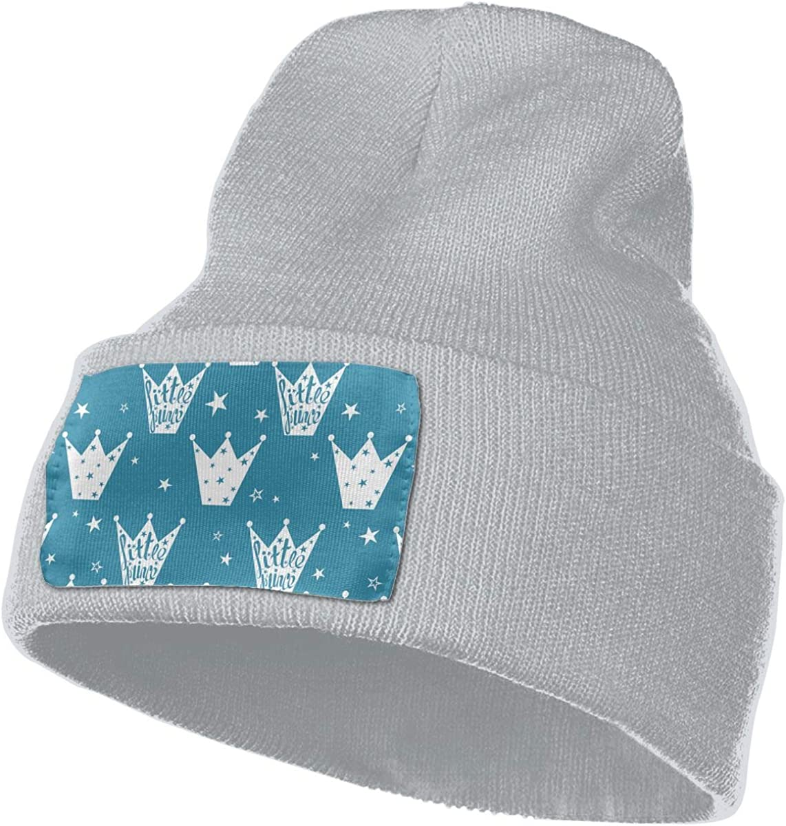 QZqDQ Crowns and Stars Unisex Fashion Knitted Hat Luxury Hip-Hop Cap