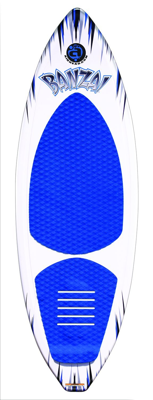 AIRHEAD AHWS-F01 Bonzai Wakesurfer by by Wakesurfer Airhead Bonzai B00EVIJKEO, 快眠110番:fe808a67 --- ijpba.info